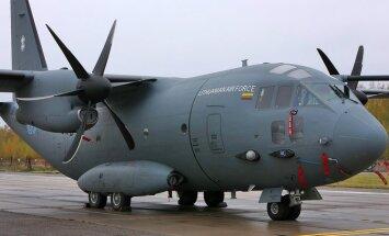 Lietuvos karinių oro pajėgų transportinis lėktuvas Alenia C-27J Spartan (Algirdas, 07 BLUE)