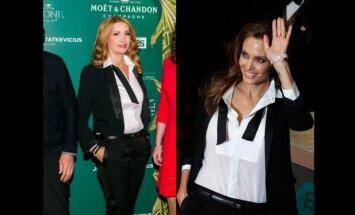 D, Bosas ir A. Jolie