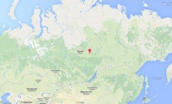 Rusijos žemėlapis
