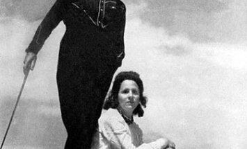 Salvadoras Dali su žmona Gala