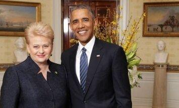 Dalia Grybauskaitė, Barackas Obama