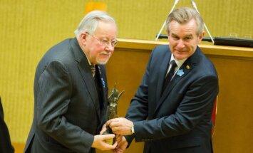 Vytautas Landsbergis, Viktoras Pranckietis