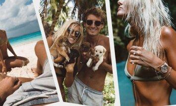 Pasakiškas Jacko ir Lauren gyvenimas: prabanga ir pinigai, kuriuos jie gauna už nuotraukas