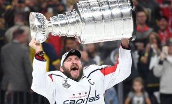 "Washington Capitals"" pirmąkart tapo NHL čempione"