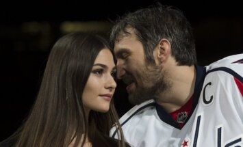 Anastasija Šubskaja ir Aleksandras Ovečkinas