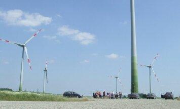 Liepynės vėjo elektrinių parkas – čia sukasi ir labai galingos vėjo elektrinės