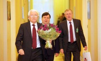 Prezidentė susitiko su Seimo Užsienio reikalų ir Europos reikalų komitetų pirmininkais bei šių komitetų atstovais