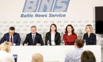 Vytautas Bakas, Saulius Skvernelis, Rasa Kazėnienė, Ausma Miškinienė, Ieva Gervinskaitė