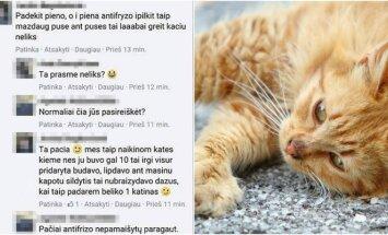 Internautus nustebino žiaurus moters elgesys su gyvūnais