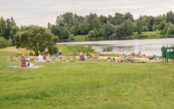 Penktame didžiausiame Lietuvos mieste – pora paplūdimių, o ir tie pustuščiai