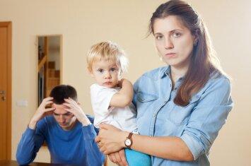 Dėl ko kyla daugiausiai konfliktų šeimoje, kuri turi vaikų