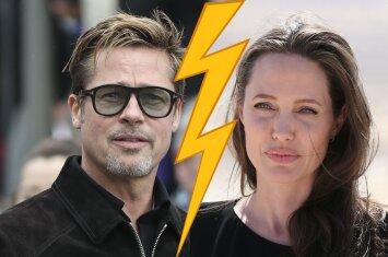 Kaip po patirto šoko jaučiasi Angelinos Jolie ir Brado Pitto vaikai