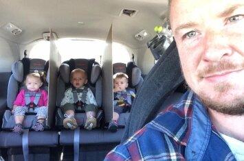 Neapsikentęs vaikų pykčių ir barnių, trynukų tėtis kai ką sugalvojo