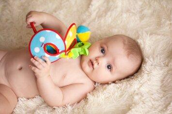 Vaiko raida nuo gimimo iki metų: ką jis moka ir kokie žaislai tinka