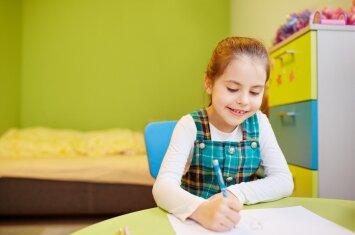 Kokia spalva labiausiai tinka vaiko kambariui