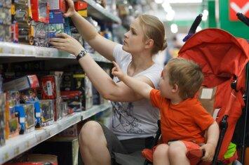 """""""Pypliukas"""": kaip išvengti vaikų isterijų parduotuvėje"""