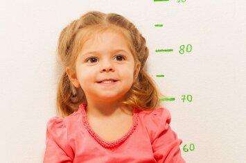 Interviu su gydytoju apie vaikų ūgį: kas nulemia, kad vieni užauga aukšti, o kiti - ne