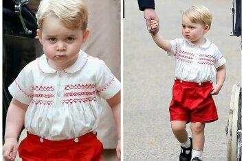 """Pasaulio numylėtinis princas George švenčia trečiąjį gimtadienį <sup style=""""color: #ff0000;"""">FOTO</sup>"""