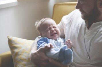 Ką daryti, jei tėtis bijo likti vienas su vaiku