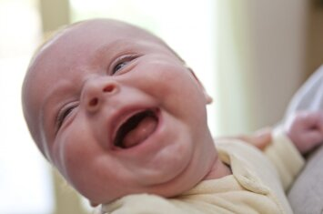 Susipažinkite: ją vadina linksmiausiu kūdikiu