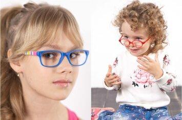 Ekonomiški ir ekologiški SWING akinių rėmeliai – judriems ir sumaniems vaikams