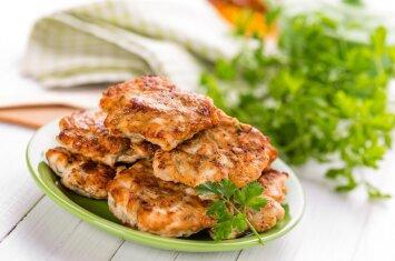 Idėja pietums ar vakarienei: vištienos blynai