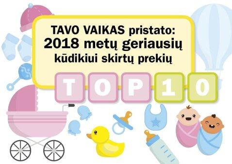 TAVO VAIKAS pristato: 2018 metų geriausių kūdikiui skirtų prekių TOP 10