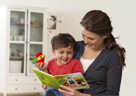 Logopedės patarimai, kaip tėvai gali padėti vaiko kalbos raidai