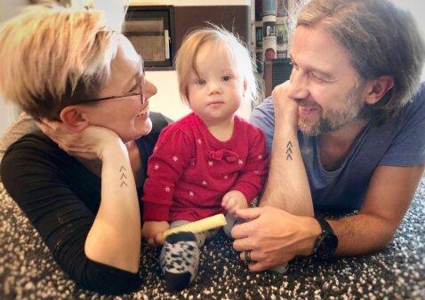 Ypatingą dukrytę auginanti mama: kodėl aš pasidariau savo pirmąją tatuiruotę