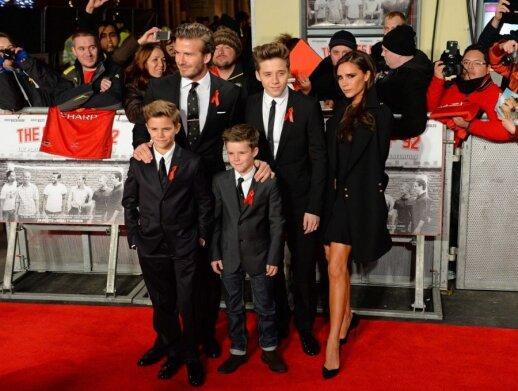 Victoria Beckham, David Beckham, vaikai, sūnus