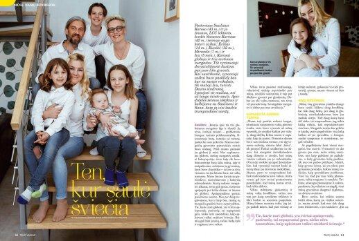 """Aktorius Rokas Petrauskas: """"Būti tėvais – labai geras jausmas"""""""