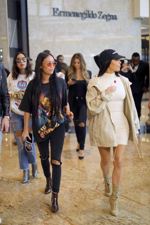 Stephanie Sheppard ir Kim Kardashian