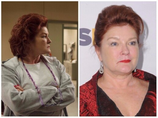 Red suvaidinusi Kate Mulgrew