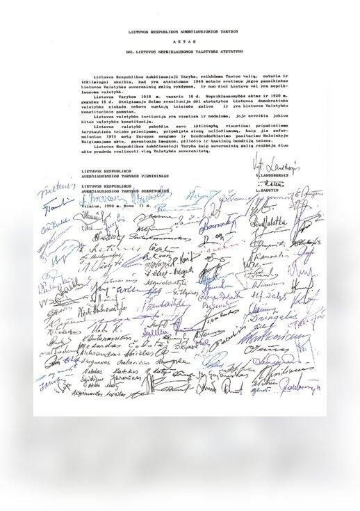 AKTPrzywrócenia Państwa Litewskiego