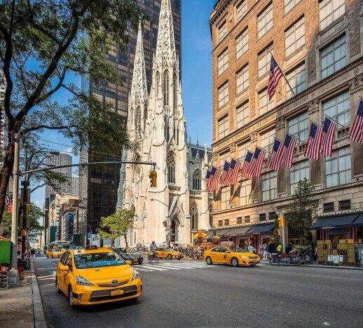 Šv. Patriko katedra – žymiausi katalikų maldos namai Niujorke