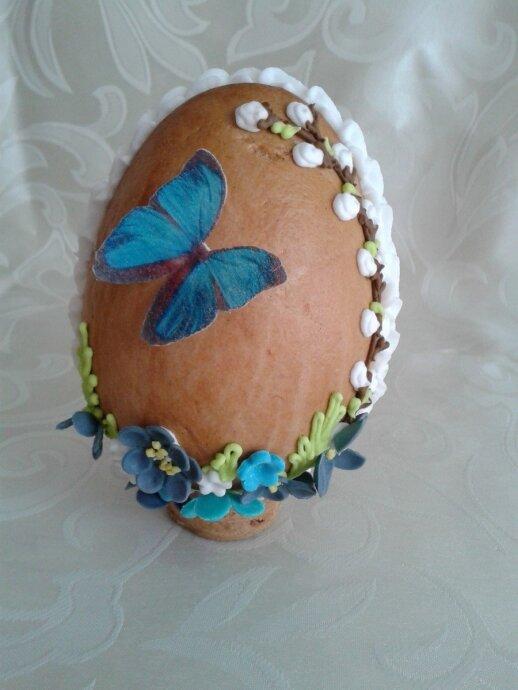 """<span style=""""color: #ff0000;"""">Mamos receptas:</span> velykiniai kiaušinių formos meduoliai"""