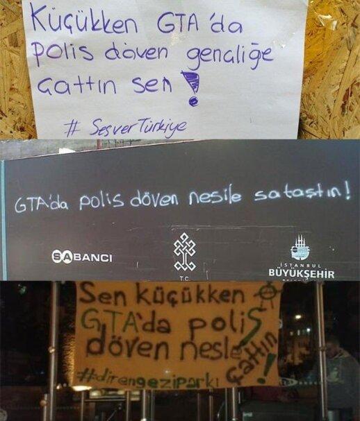 GTA w tureckich zamieszkach. Foto. kotaku.com