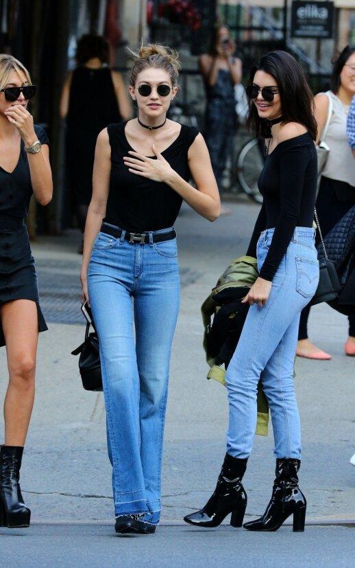 Hailey Bladwin, Gigi Hadid, Kendall Jenner