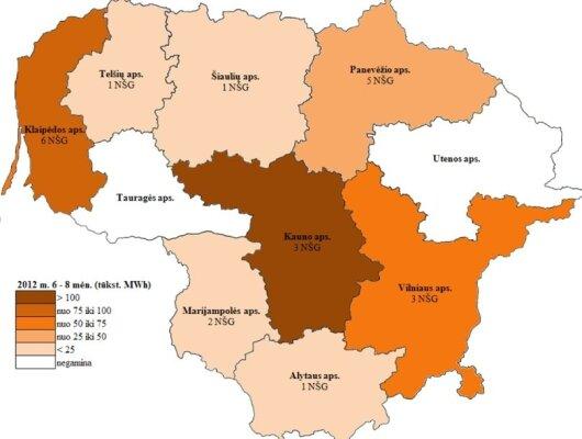 Nepriklausomi šilumos gamintojai Lietuvoje, VKEKK info.