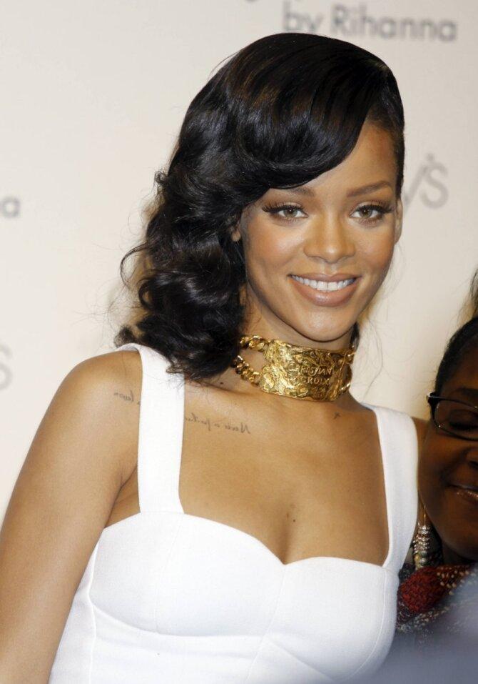 Dainininkė Rihanna