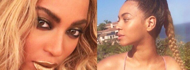 Besilaukianti Beyonce iškritikuota - tai nepadoru ir būsimai mamai nedera