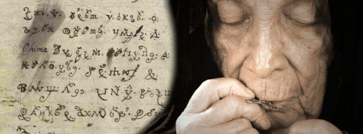 Velnio pasiuntinė: iššifruotas Liuciferio apsėstos vienuolės laiškas