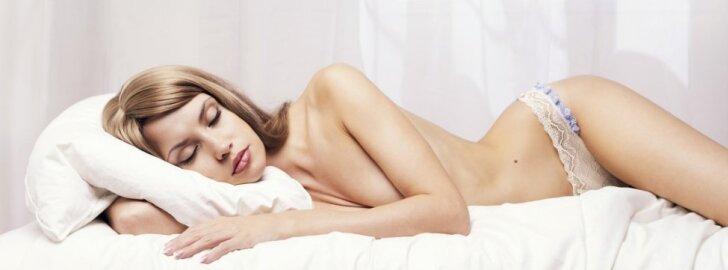 KŪNO PASLAPTYS: ką daro tavo kūnas, kai miegi