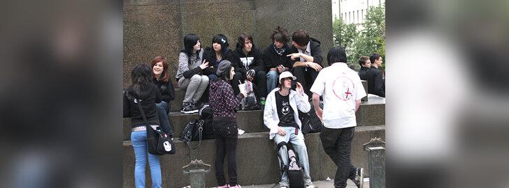 Prahos jaunimo gatvės mada
