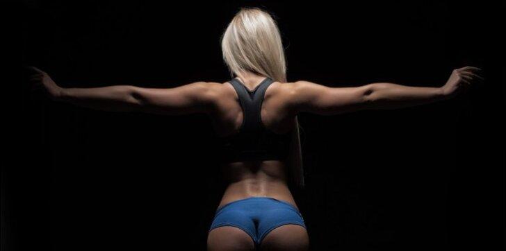 Jūsų kūnui – pagrindiniai pratimai pilvui, kojoms, užpakaliukui ir t.t.
