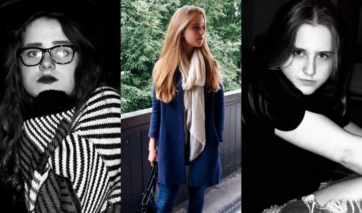 Rašytojos Kamilė ir Kristina bei jaunoji dizainerė Julija: trigubas smūgis jaunosios kartos atstovams (FOTO)