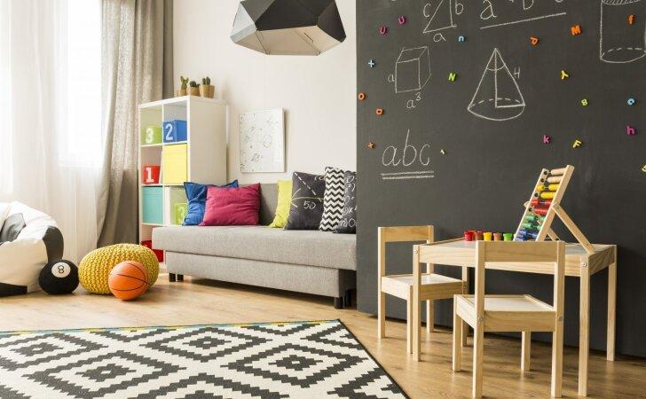 Praktiškas sprendimas vaiko erdvei – ir ramiems žaidimams, ir naujiems startams