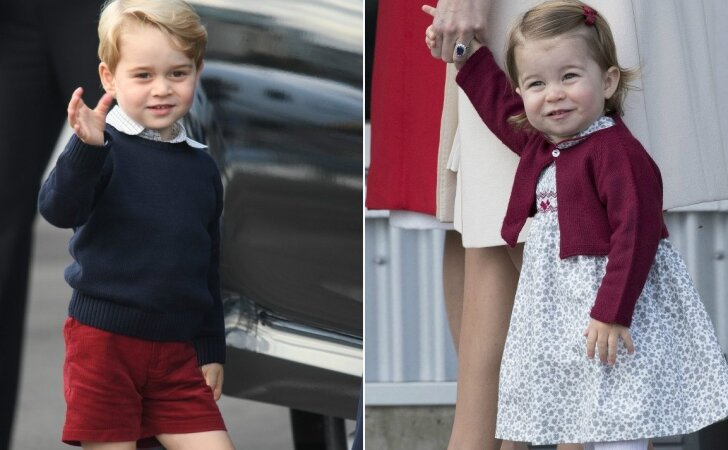Princą George ir princesę Charlotte aplankė ypatingi svečiai