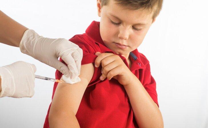 Valstybės lėšomis vaikai Lietuvoje skiepijami nuo dvylikos ligų