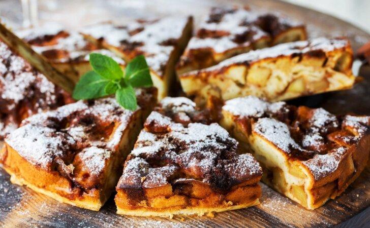 Vienas skaniausių obuolių pyragų, kokį yra tekę valgyti